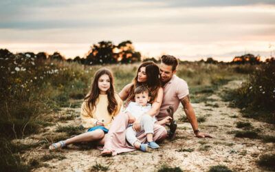 Summer outdoor family photography