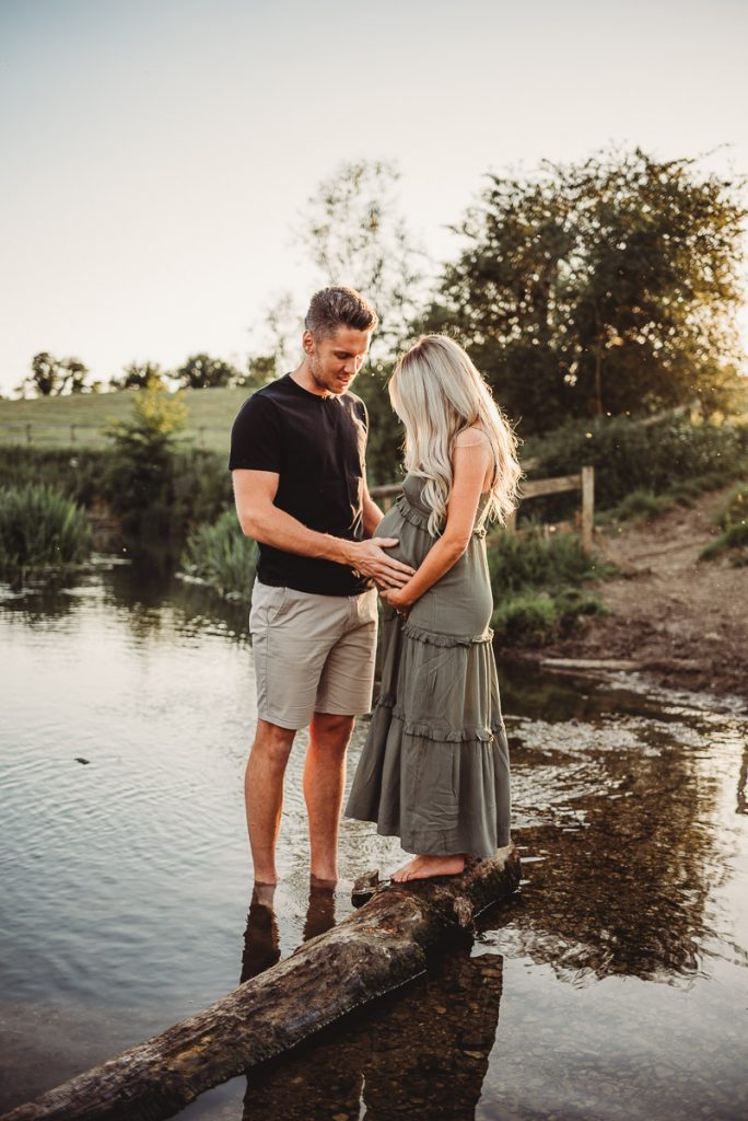 riverside maternity photography